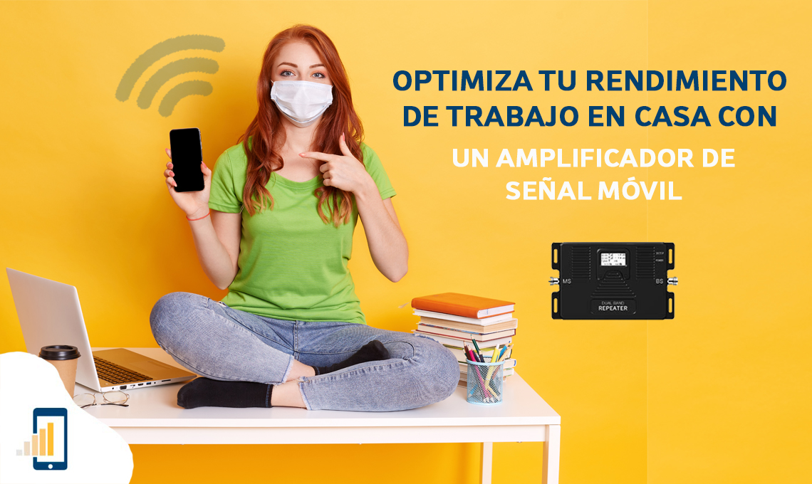Optimiza tu rendimiento de trabajo en casa con un amplificador de señal móvil