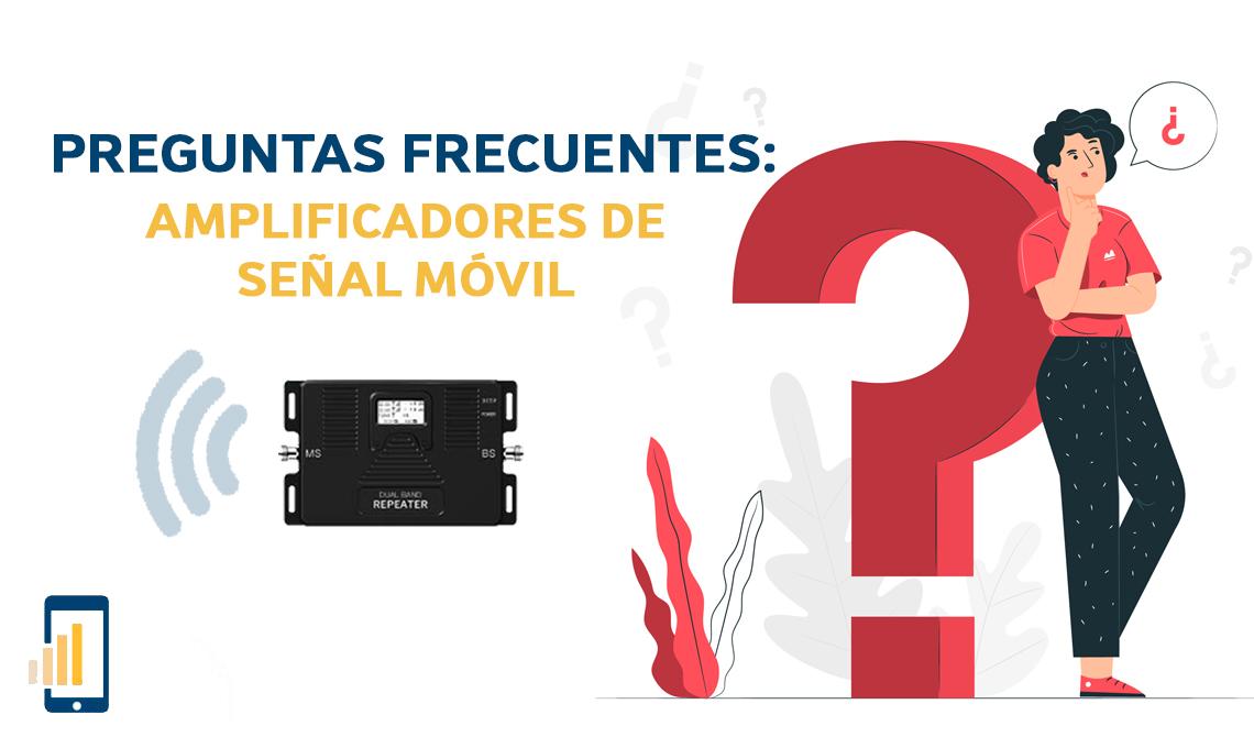 Preguntas frecuentes sobre los amplificadores de señal móvil